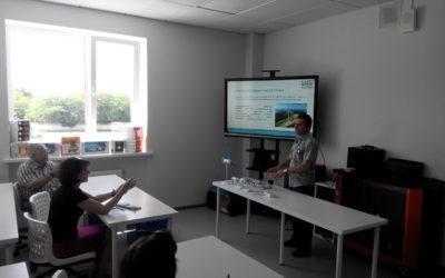 На базе детского технопарка «Кванториум» состоялся семинар для евпаторийских педагогов на тему «Проекты и исследования обучающихся в области энергетики»