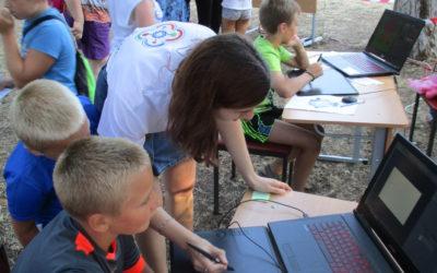 Детский технопарк «Кванториум» принял участие в Фестивале семьи и спорта в городе Евпатория