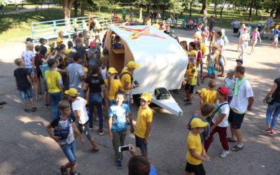 В ДОЦ «Сокол» завершилась смена «Инженерные каникулы с детским технопарком «Кванториум»