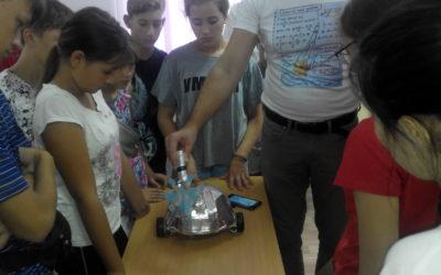 Детский технопарк «Кванториум» провёл образовательный интенсив для юнармейцев