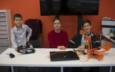 В Кванториуме Евпатории состоялись конкурсные мероприятия по техническому творчеству