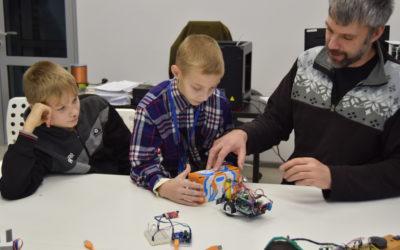 Детский технопарк Кванториум посетили ребята из Евпаторийской школы-интерната
