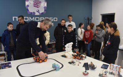В детском технопарке «Кванториум» отметили День российской науки!